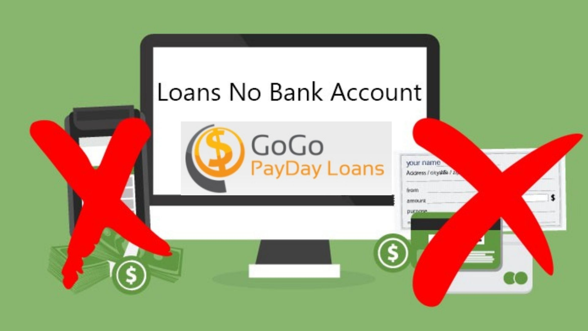 Loans with No Bank Account Needed
